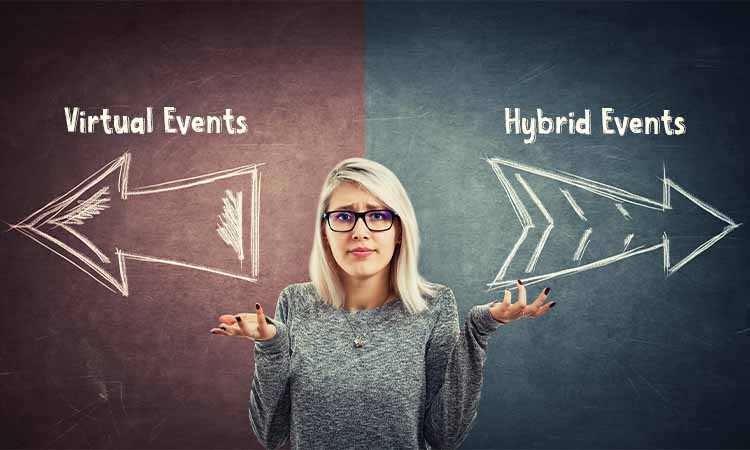 Why should you move from LIVE events to HYBRID events?